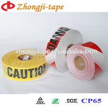 PE customized printing warning tape